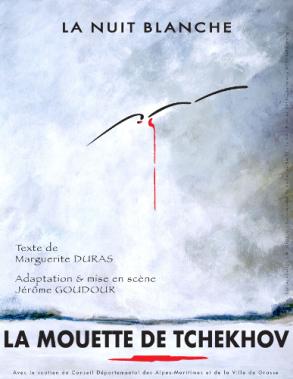 """Affiche """"La Mouette"""""""