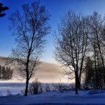 paysage de neige 2
